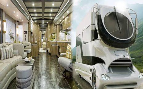 Mobil Rumah Termewah dan Terbaru Di Dunia Saat Ini